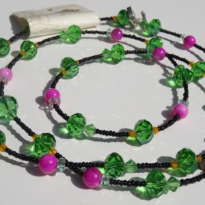 necklace_green_pink_clear_orange_black_beads_ddmdigre__817f4d4e